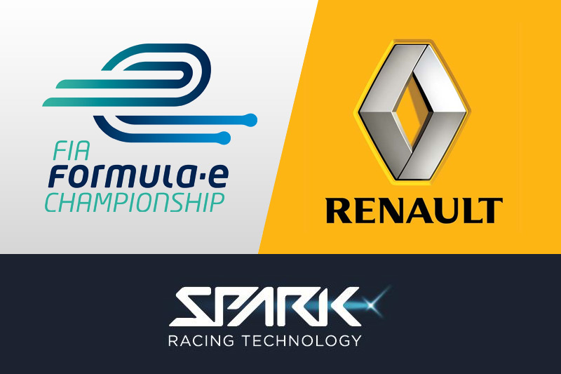 Renault signs with Spark Racing Technology and Formula E Holdings