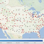 Tesla Supercharger Network - 2015