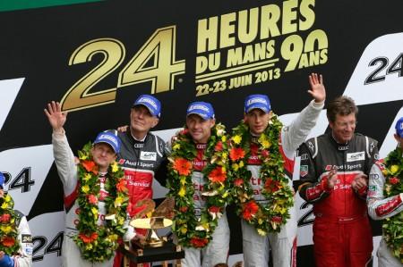 Audi e-tron Wins Le Mans 2013