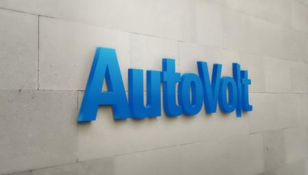 AutoVolt Wall Logo