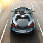 BMW i8 Spyder - Top down Shot