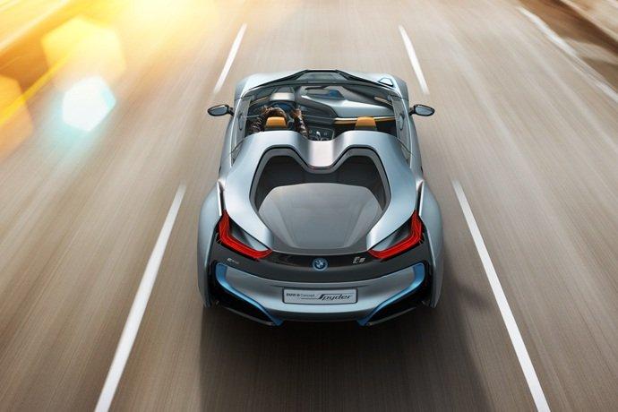 Bmw I8 Concept Spyder Autovolt Magazine