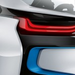 BMW i8 rear light detail