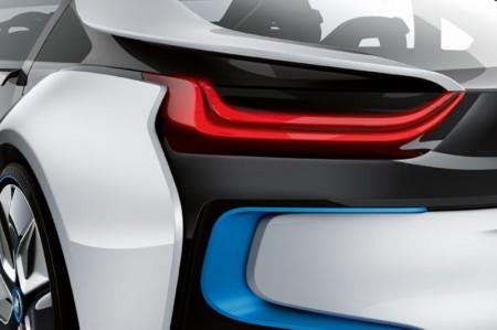 BMW i8 rear light detail