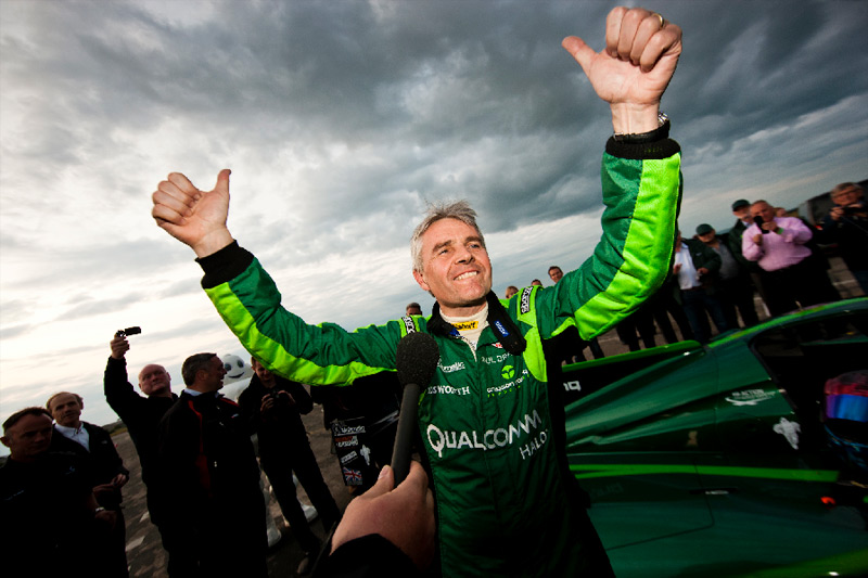 Lord Drayson takes World Electric Land Speed Record