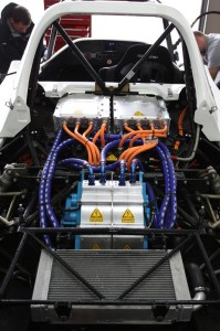 TMG EV P002 Pikes Peak - Electrical components