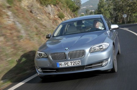 BMW ActiveHybrid 5 - Driving