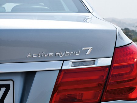 BMW ActiveHybrid 7 Series - Rear detail