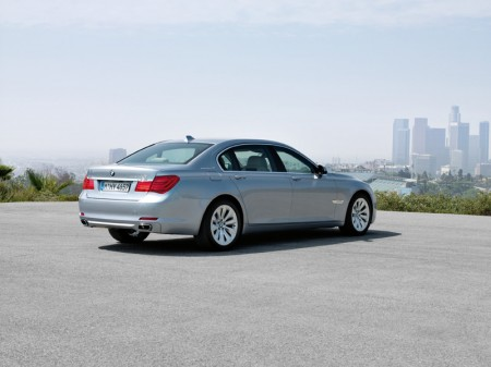 BMW ActiveHybrid 7 Series - Rear quarter view