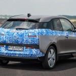 BMW i3 test drive - Rear Quarter view