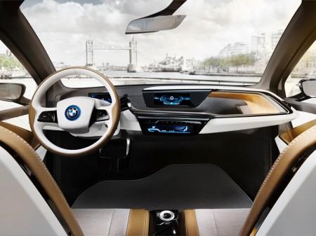 BMW i3 Concept - dashboard - 06/2012