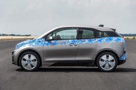 BMW i3 test drive - Side view