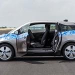 BMW i3 test drive - Doors open
