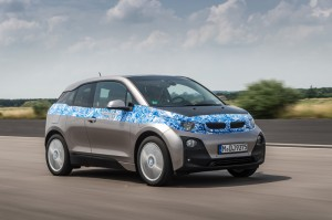 BMW i3 test drive - Front quarter view