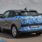 BMW i3 test drive - Rear Quarter view