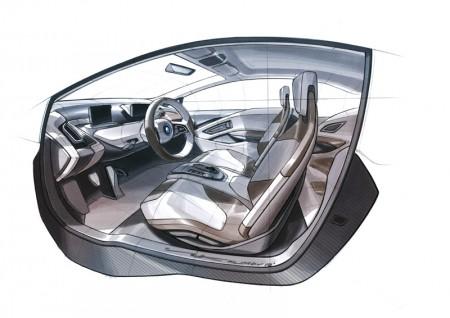 BMW i3 Concept Coupe - Interior design - 11/2012