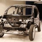 BMW i3 CFRP passenger cell (Life module) - 04/2013