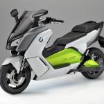 BMW Motorrad C evolution Electric Scooter - Front Quarter View