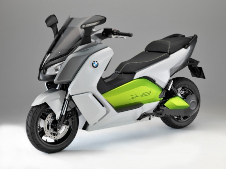 BMW Motorrad C evolution Electric Scooter - Front Quarter View