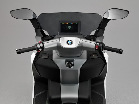 BMW Motorrad C evolution Electric Scooter - Instruments