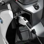 BMW Motorrad C evolution Electric Scooter - Charging