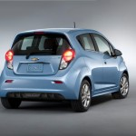 Chevrolet Spark Electric Car 2014 - Rear view