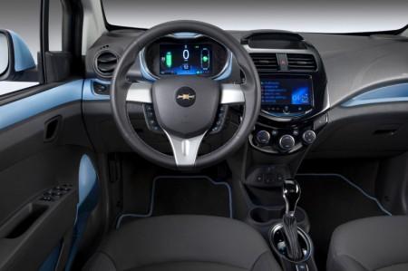 Chevrolet Spark Electric Car 2014 - Dashboard
