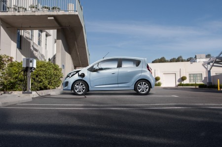Chevrolet Spark Electric Car 2014 - Charging
