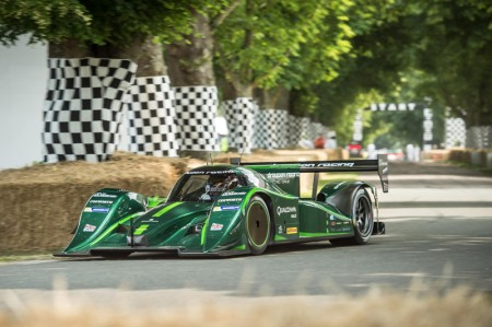 Drayson Racing All Electric Lola B12 69/EV at Goodwood Festival of Speed 2013