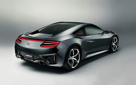 Honda NSX Concept 2013 - Rear Quarter View