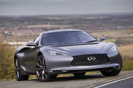 INFINITI EMERG-E Electric Concept Car