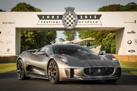 Jaguar C-X75 at Goodwood Festival of Speed (FoS) 2013