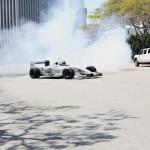 LA Welcomes Formula E - Burnouts