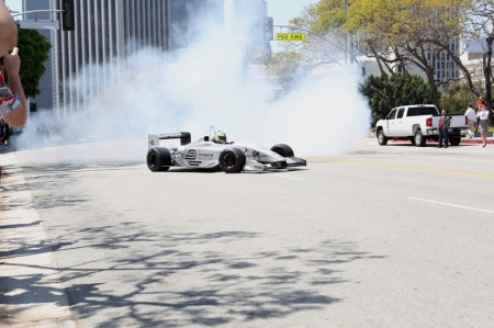 LA Welcomes Formula E - Burnouts