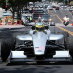LA Welcomes Formula E - Driving through the streets