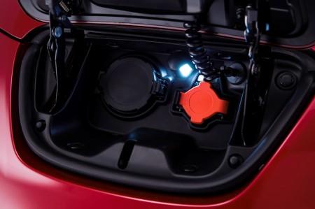 New Nissan Leaf Charging Port