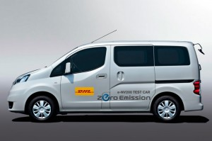 Nissan and DHL Japan to Test e-NV200