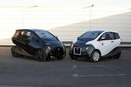 VelV: the light city electric vehicle