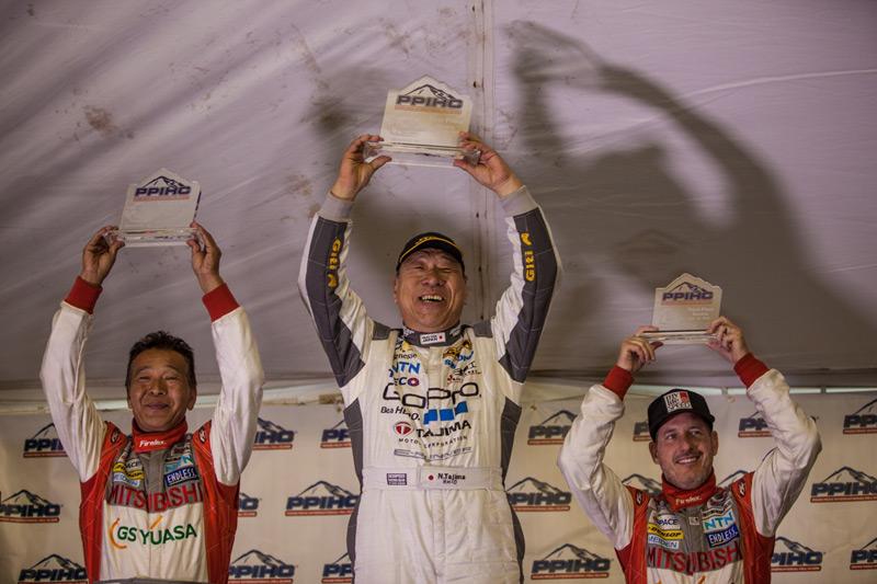 Hiroshi Masuoka and Greg Tracy finish 2nd and 3rd at Pikes Peak Electric Division