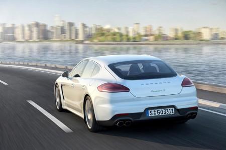 Porsche Panamera S E-Hybrid - Rear View