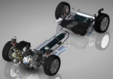 Digital representation of the PSA hybrid air system