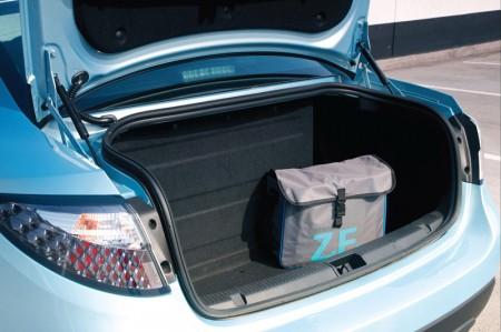 Renault Fluence Z.E. Electric Car - Boot capacity