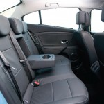 Renault Fluence Z.E. Electric Car - Interior, rear
