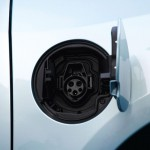 Renault Fluence Z.E. Electric Car - Recharge socket