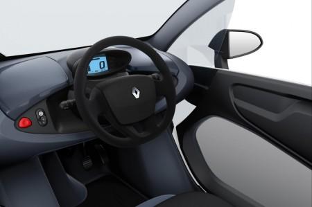Renault Twizy Electric Car - Interior dashboard