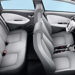 Renault ZOE Electric Car - Seating arrangement