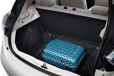 Renault ZOE Electric Car - Boot capacity