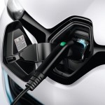 Renault ZOE Electric Car - Charging socket