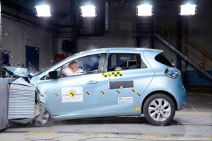 Renault ZOE Electric Car - Rated Five stars by Euro NCAP