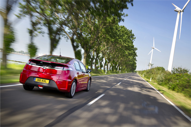Vauxhall Ampera Electric Car